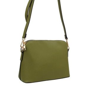 Handbags - Structured Crossbody with Shoulder Strap NWT